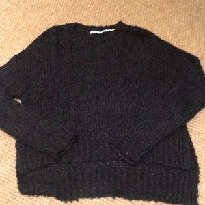 Kimchi Blue Navy Hi-Lo Sweater